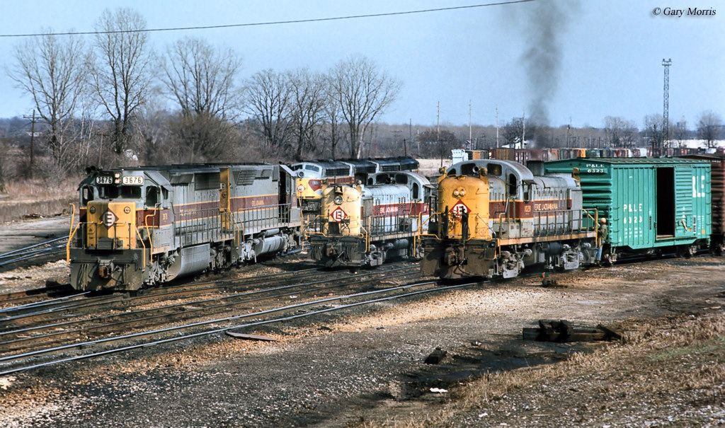 The Erie Lackawanna Railway Was Formed Through The Erie And