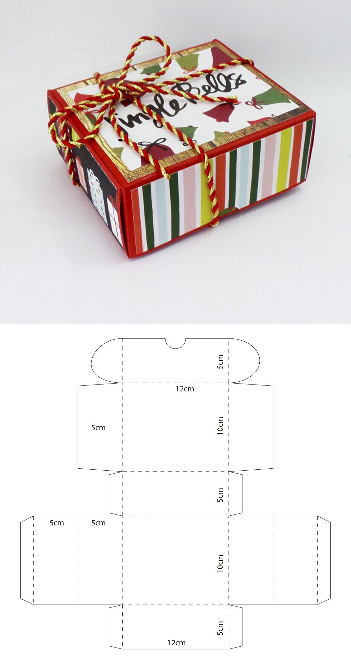 descarga gratis el molde en mi sitio web diy paper crafts boxes