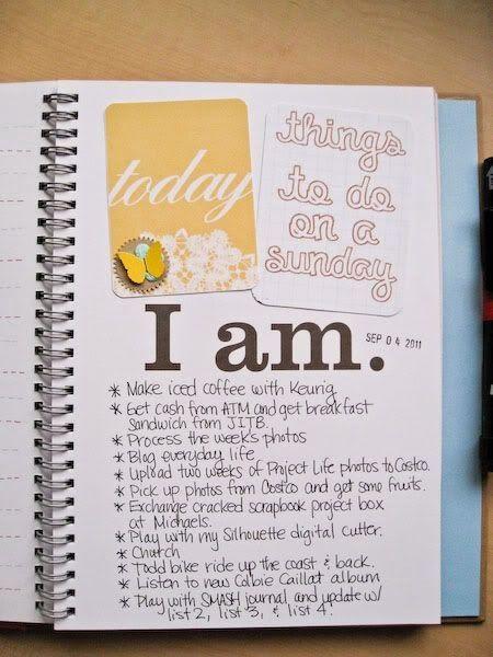 Várias maneiras de guardar todos os seus pensamentos