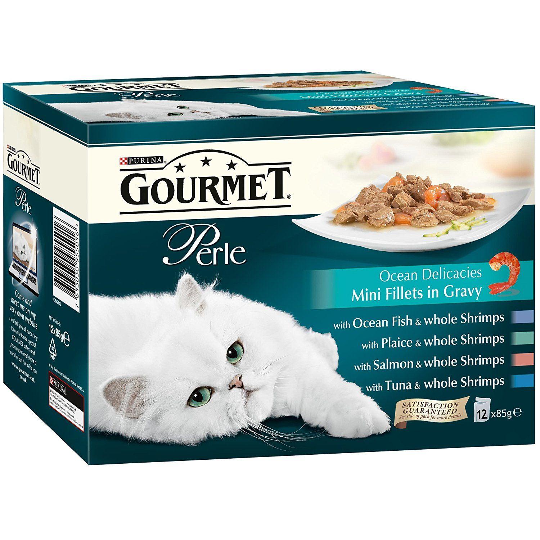 Gourmet perle ocean delicacies in gravy 12 x 85 g pack
