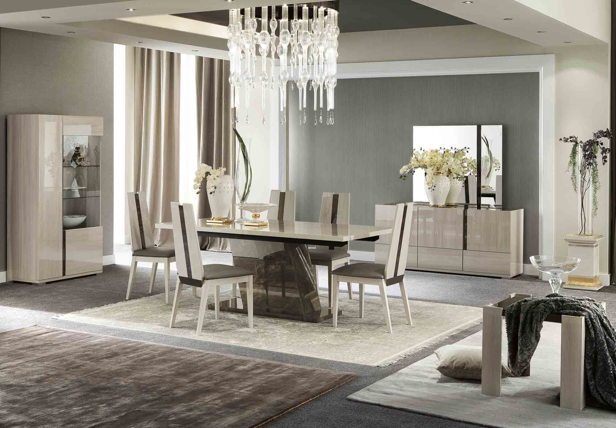Italian Extendable Dining Table Extending Dining Table Andorra Dining Furniture From Furniture