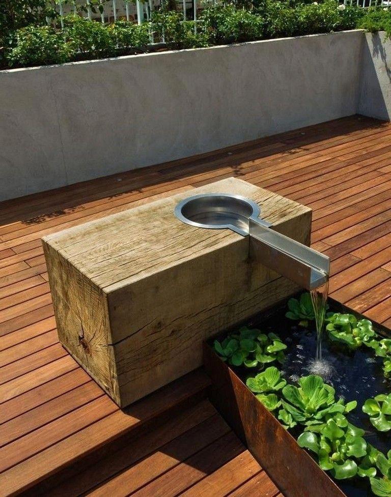 An Environmentally Friendly Roof Has Many Rewards At Economic Natural And Group Rank Terracegarden Garden Design Water Features In The Garden Garden Fountains