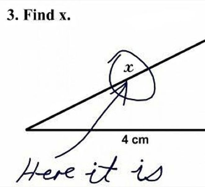 Kids Who Got The Answer So Wrong But So Right At The Same Time - 32 hilarious kids test answers