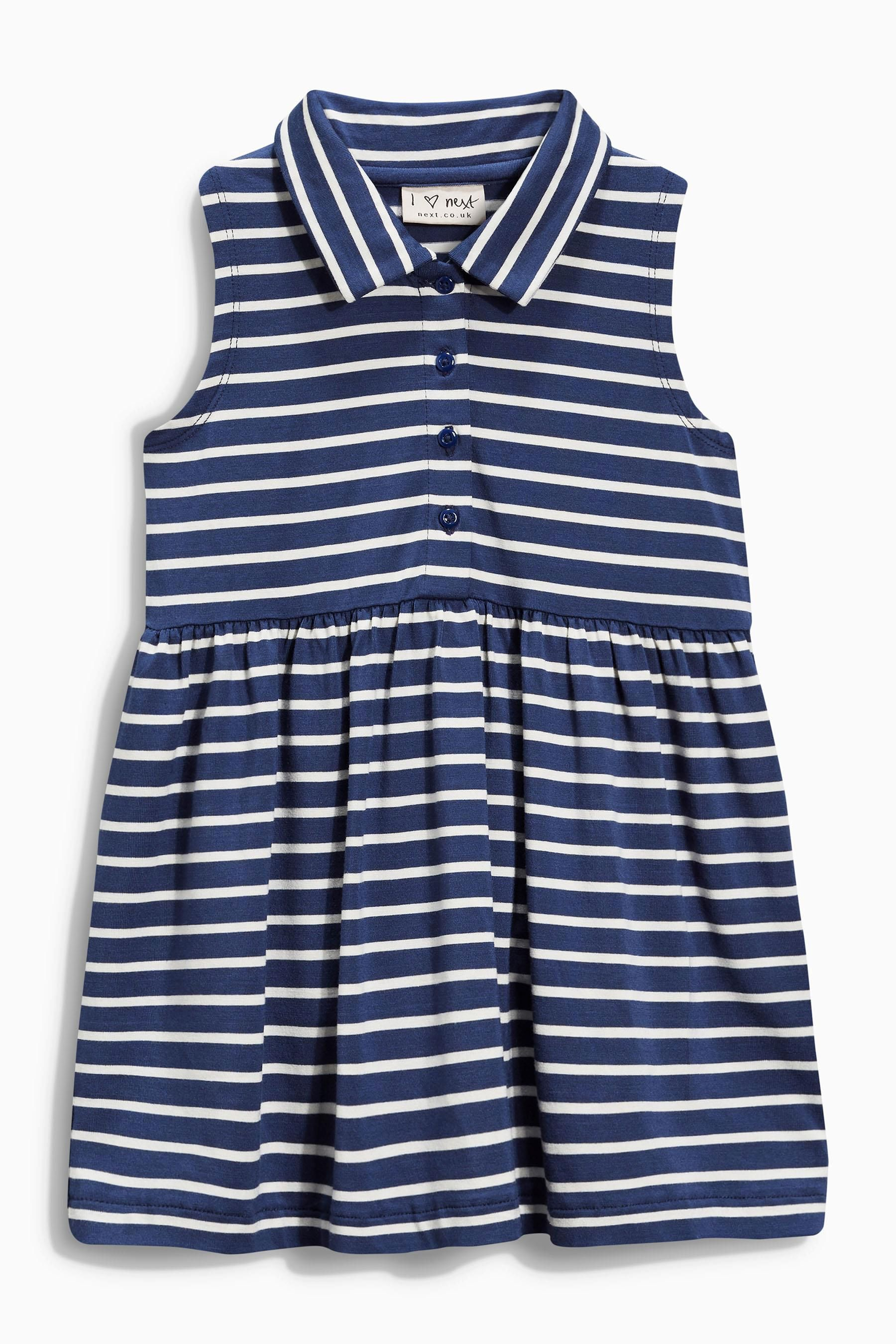Buy Navy Stripe Dress (3mths-6yrs) online today at Next: United ...