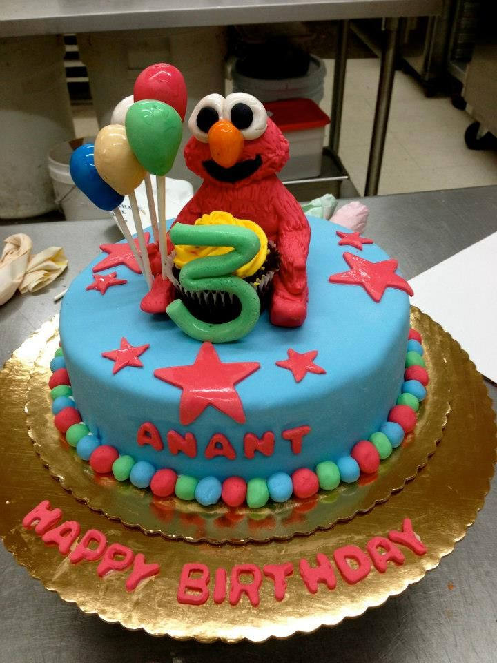 Elmo Birthday Cake Baked Goods by Kate Pinterest Elmo