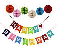 Free Printable Happy Birthday Banner Free printable party Happy