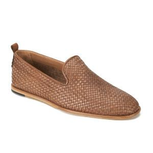 6c7be3bdcacd2 H Shoes by Hudson Men's Ipanema Weave Slip on Leather Shoes - Tan: Image 5