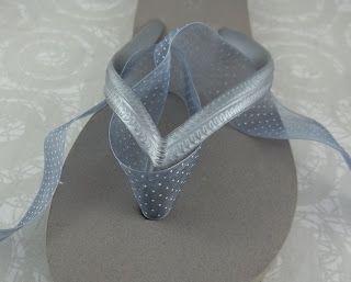 2 Good Claymates: Tutorial - Decorating Flip Flops