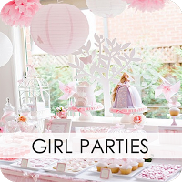 Party Idea Directory! Amazing site- with any theme you can dream of (not just girl parties!)