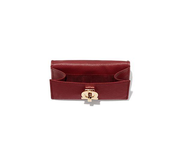 5a7df6d34e49 Gancio Clasp French Wallet - Wallets - Small leather goods - Women - Salvatore  Ferragamo