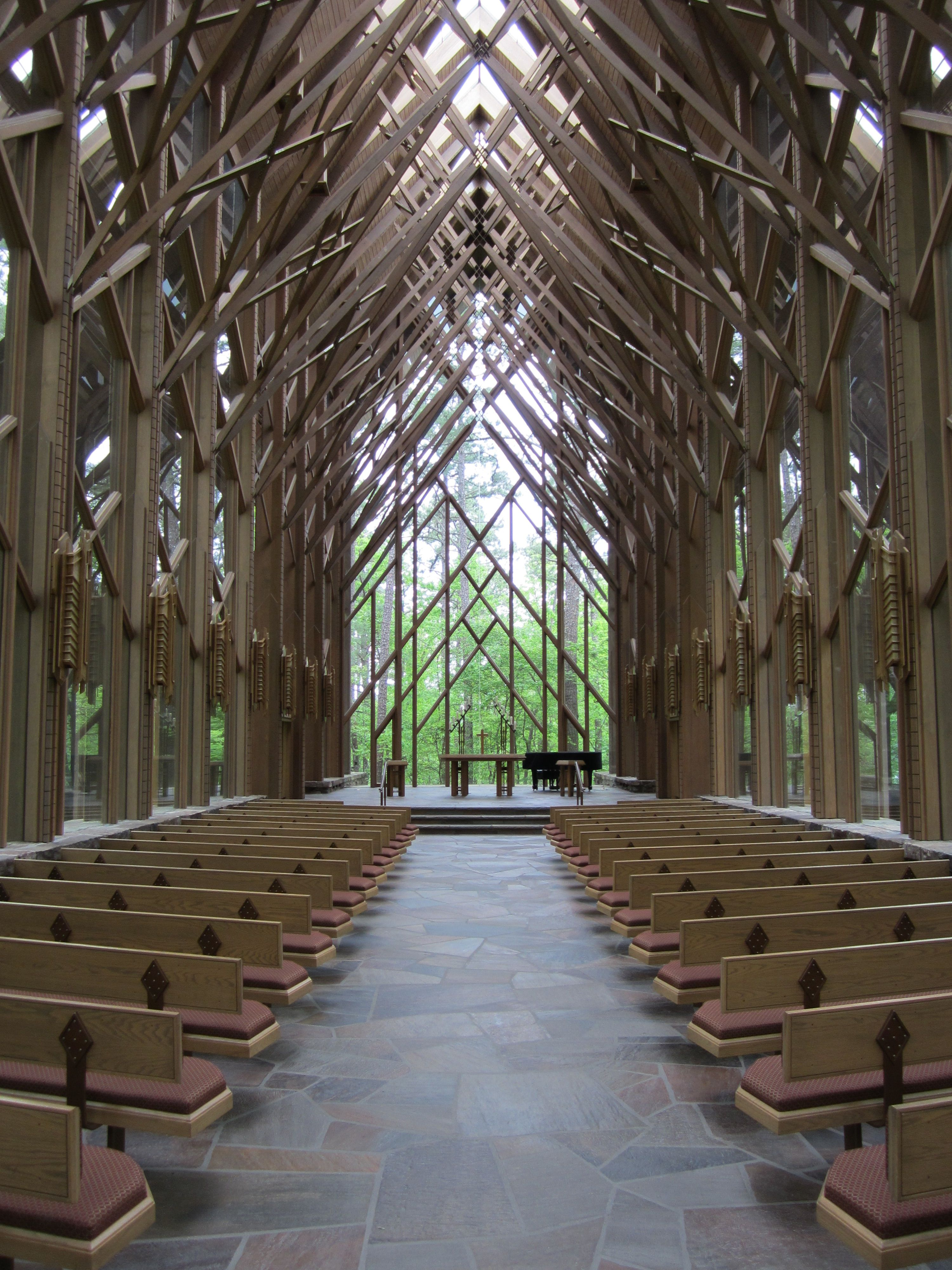Someone Please Get Married Here And Hire Me Xo Anthony Chapel At Garvan Woodland Gardens In Hot Springs Ar