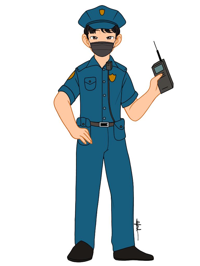 Frontliners Police Officer Police Art Police Officer Police