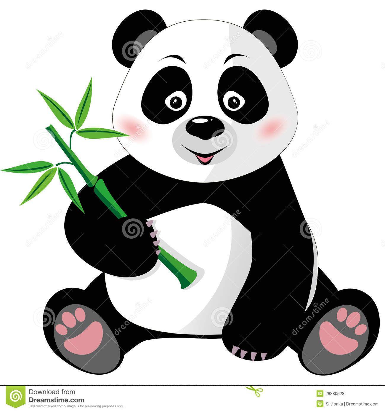 Clipart Panda Bear Baby panda bear clip art | Class Ideas ...