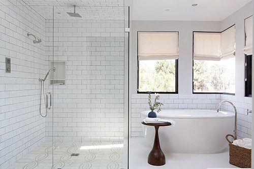 Klassieke moderne badkamer | Badkamers | Pinterest - Badkamer ...