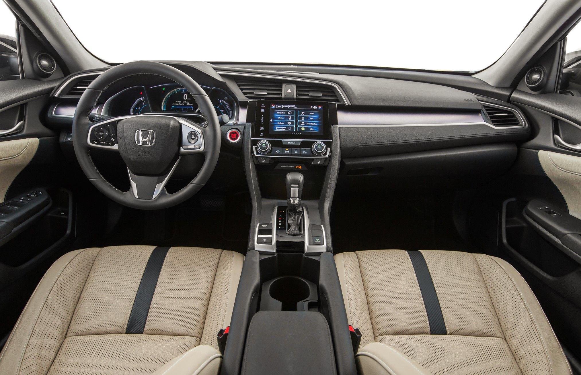 2016 Honda Civic 4 Door Hatchback Touring Edition Honda Civic 2016 Honda Civic 2016 Honda Civic Sedan