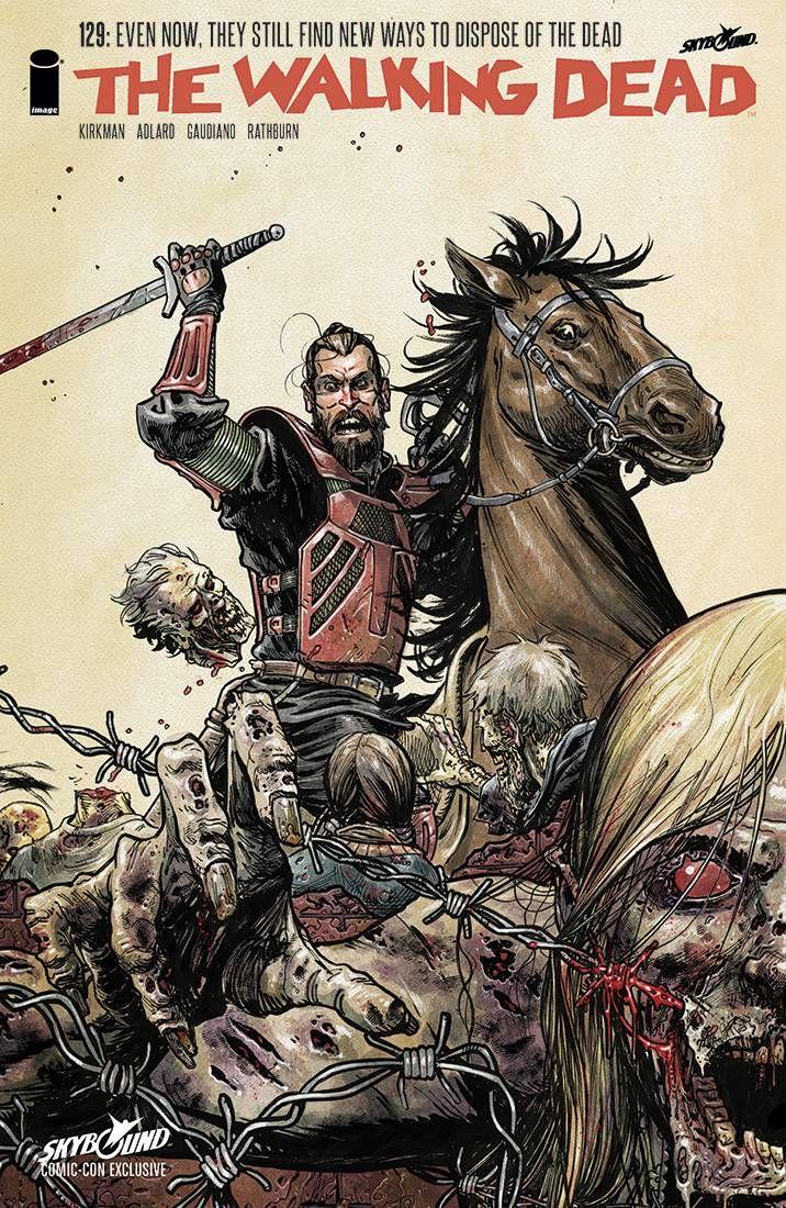 Issue #129 #WalkingDead #comic #cover #kirkman #image #thewalkingdead
