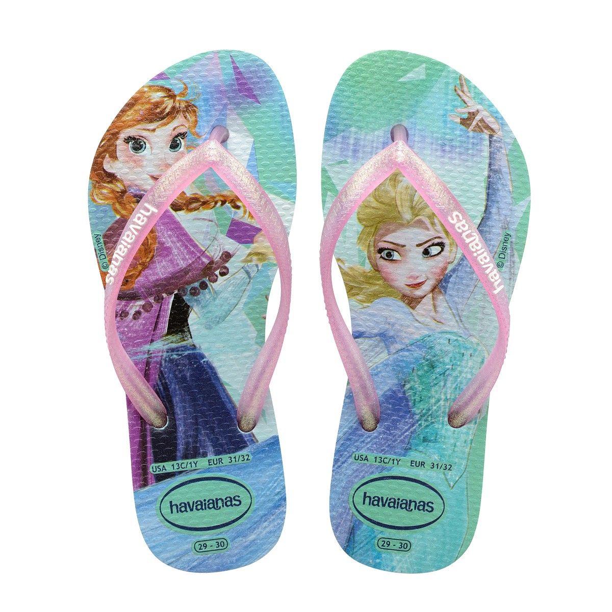 Havaianas Kids Slim Frozen Sandal Green