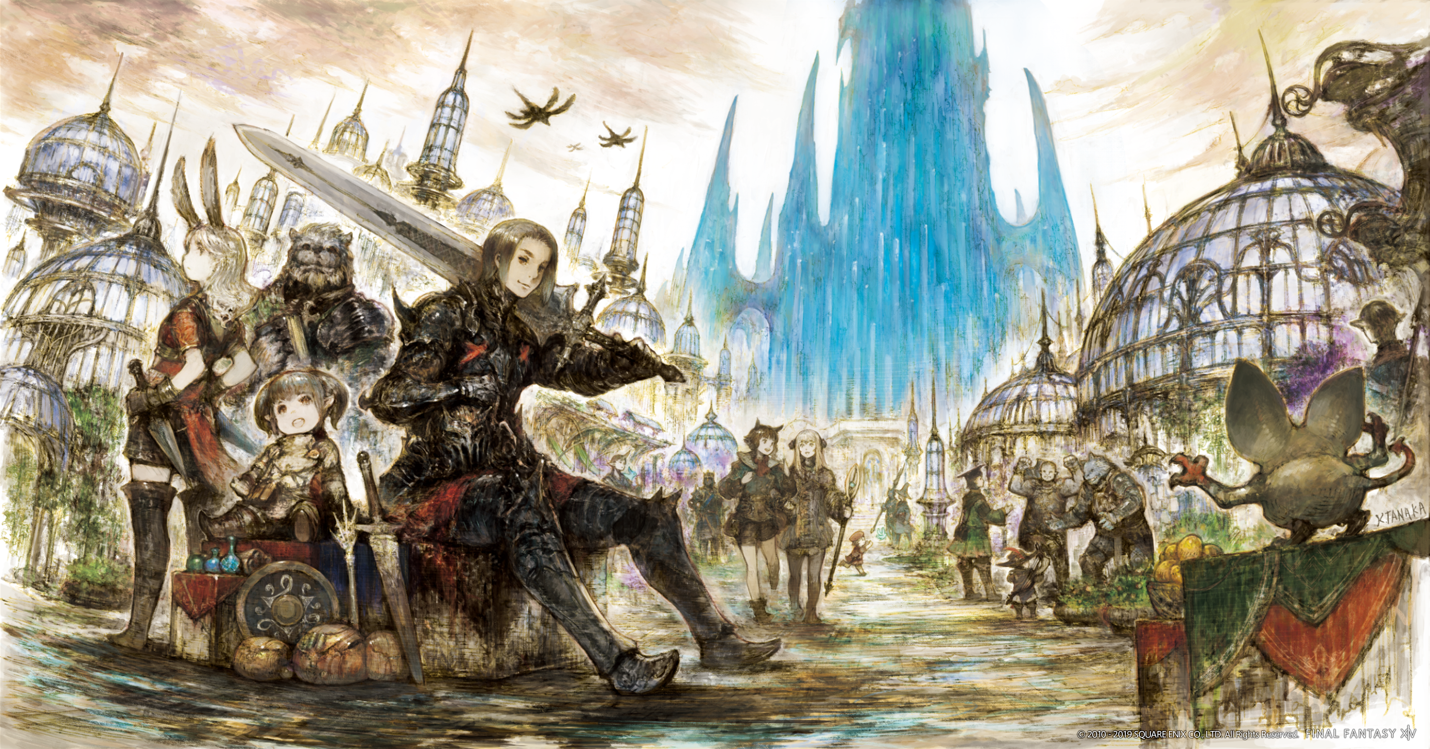Final Fantasy Xiv Shadowbringer Wallpaper Final Fantasy Xiv