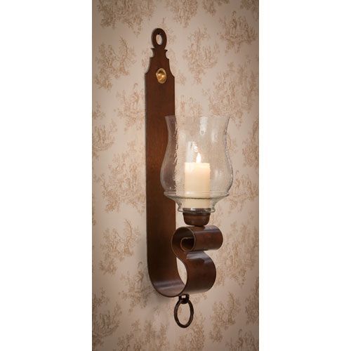 Dessau home antique gold oval scroll candle wall sconce set of 2