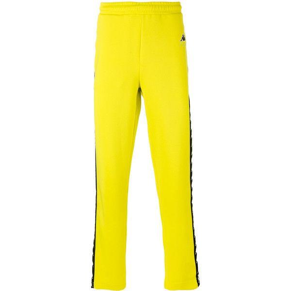 Gosha Rubchinskiy x Kappa contrast track pants ( 105) ❤ liked on Polyvore  featuring men s fashion d9d86e701f676
