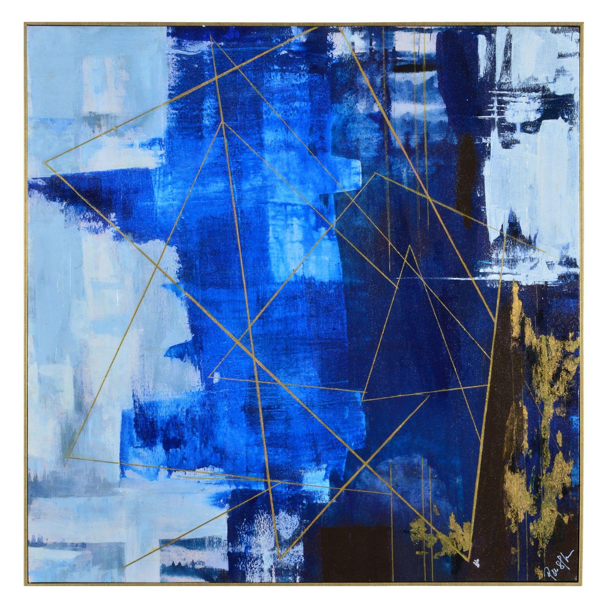 Blue dream interiors in pinterest art canvas wall art
