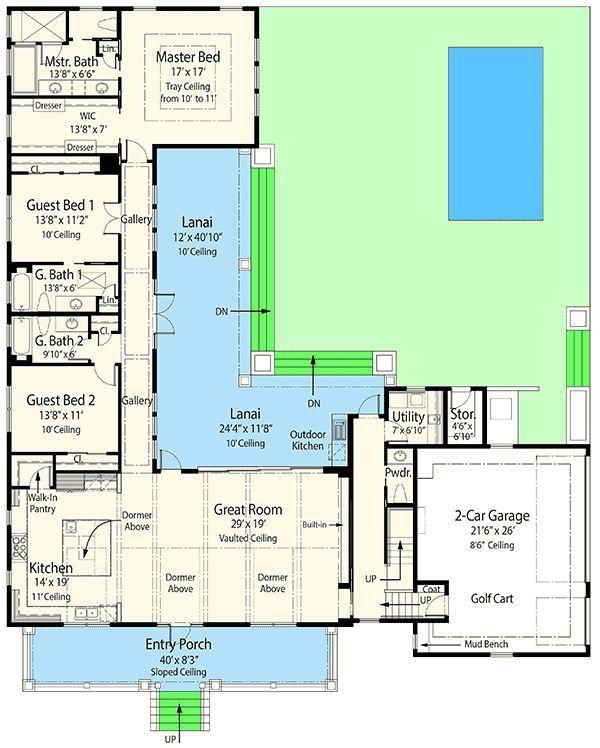Ccf3512df1bd544aac62904dcc638cf4 Butler Pantry L Shape House Floor Plans Jpg 600 748 Pixels Denah Lantai Rumah Denah Rumah Denah Lantai