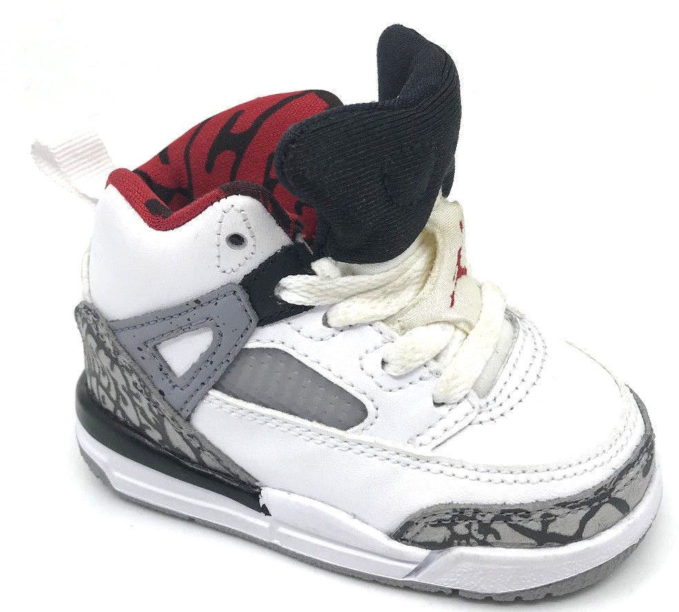 new style 6cc79 f7a04 eBay  Sponsored Jordan Spizike BT Boys Sneaker White Varsity Red-Grey Black  317701-122 Size 4C