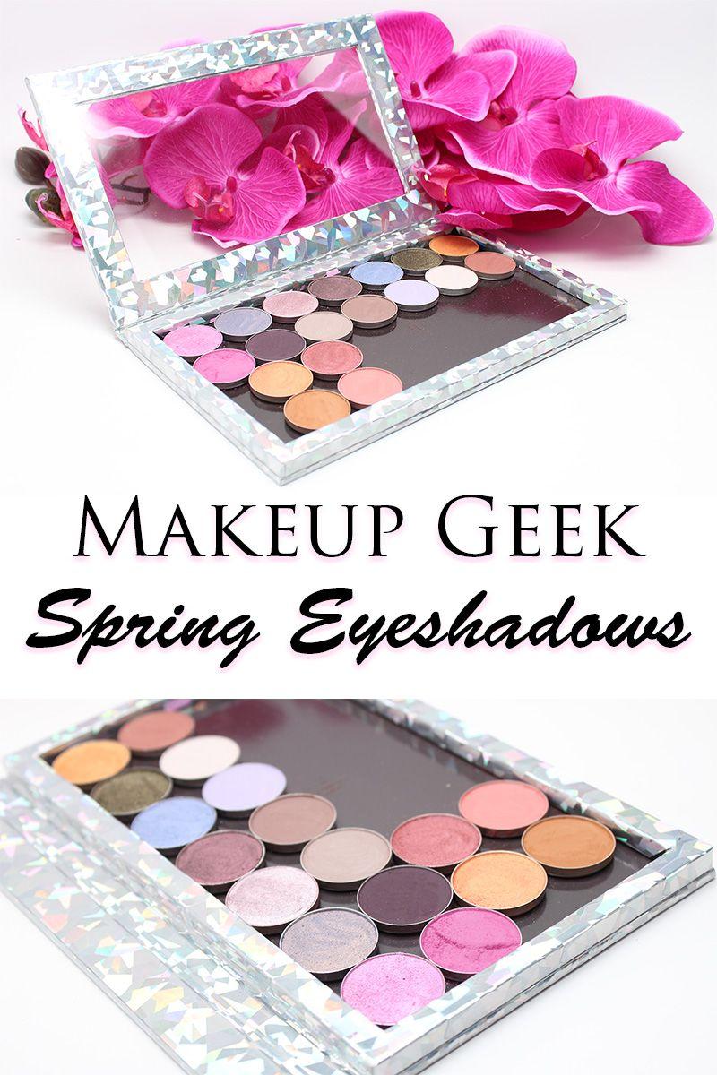 Makeup Geek Spring 2016 Eyeshadows Makeup geek