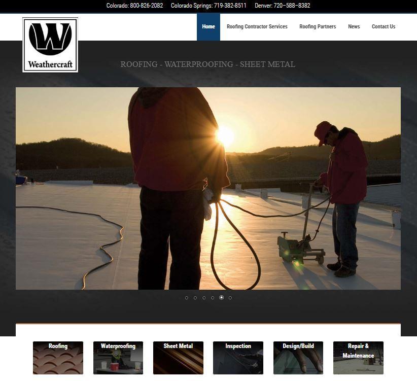 Weathercraft Web Development Website Design Web Development Seo Website Design