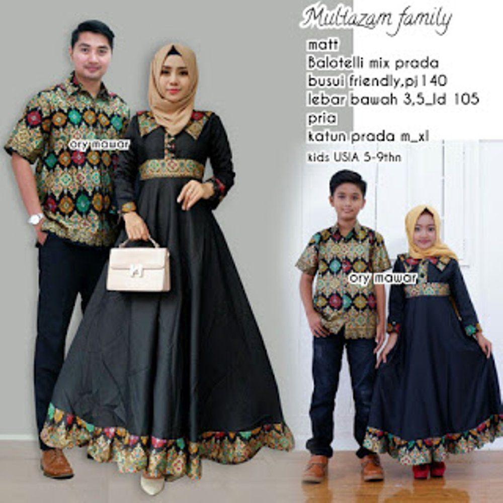 Batik Sarimbit Terbaru 2018 Multazam Family Couple Untuk Keluarga