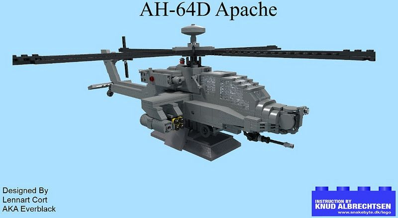 Apache Instructions Legos And Lego Instructions