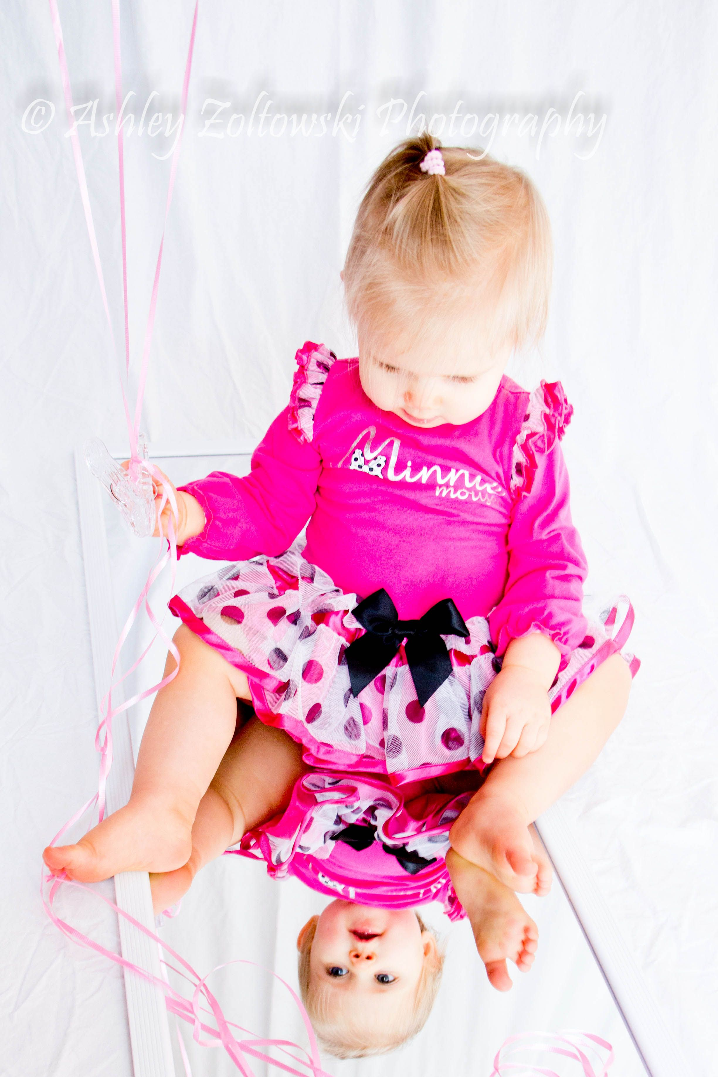 Beautiful Reflection 1 year old Happy Birthday