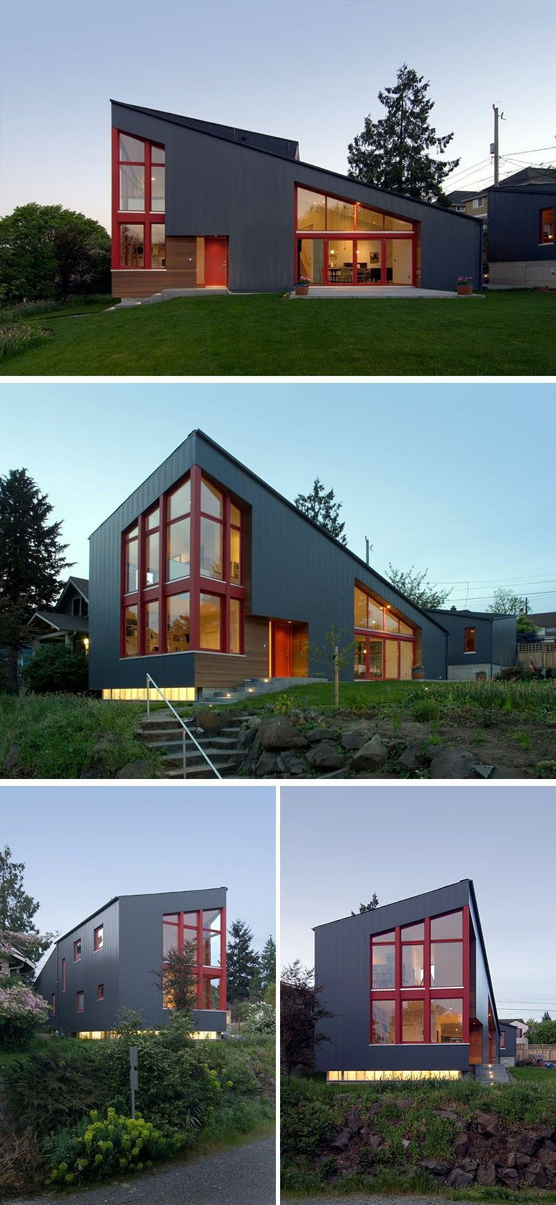 Best This New House In Seattle Was Designed With A Large 400 x 300