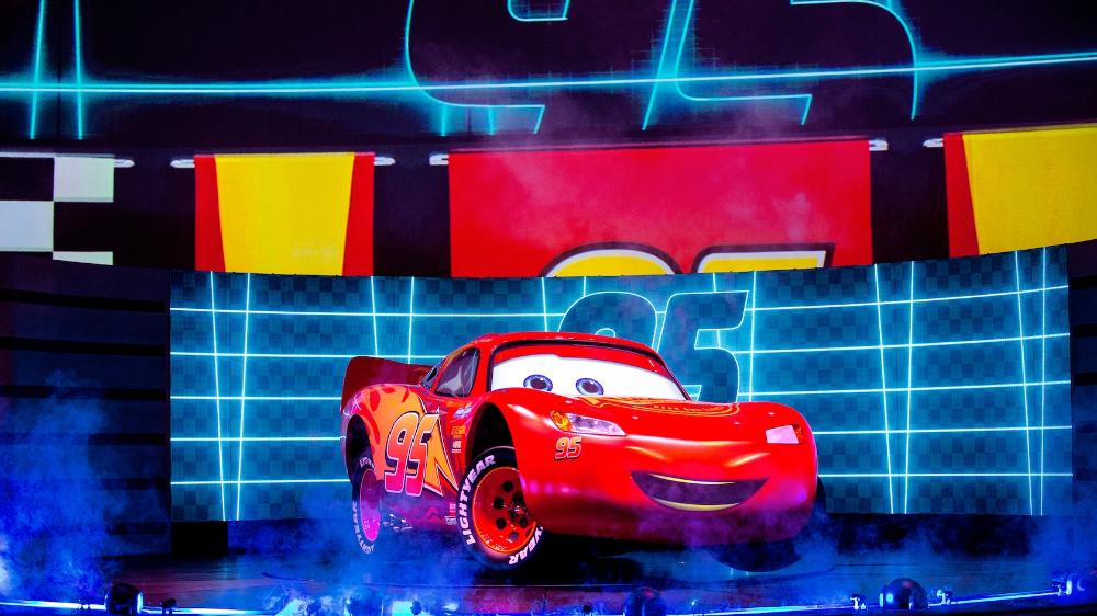 Lightning Mcqueen S Racing Academy At Disney S Hollywood Studios Walt Disney World Resort In 2021 Hollywood Studios Disney Disney World Resorts Disney World