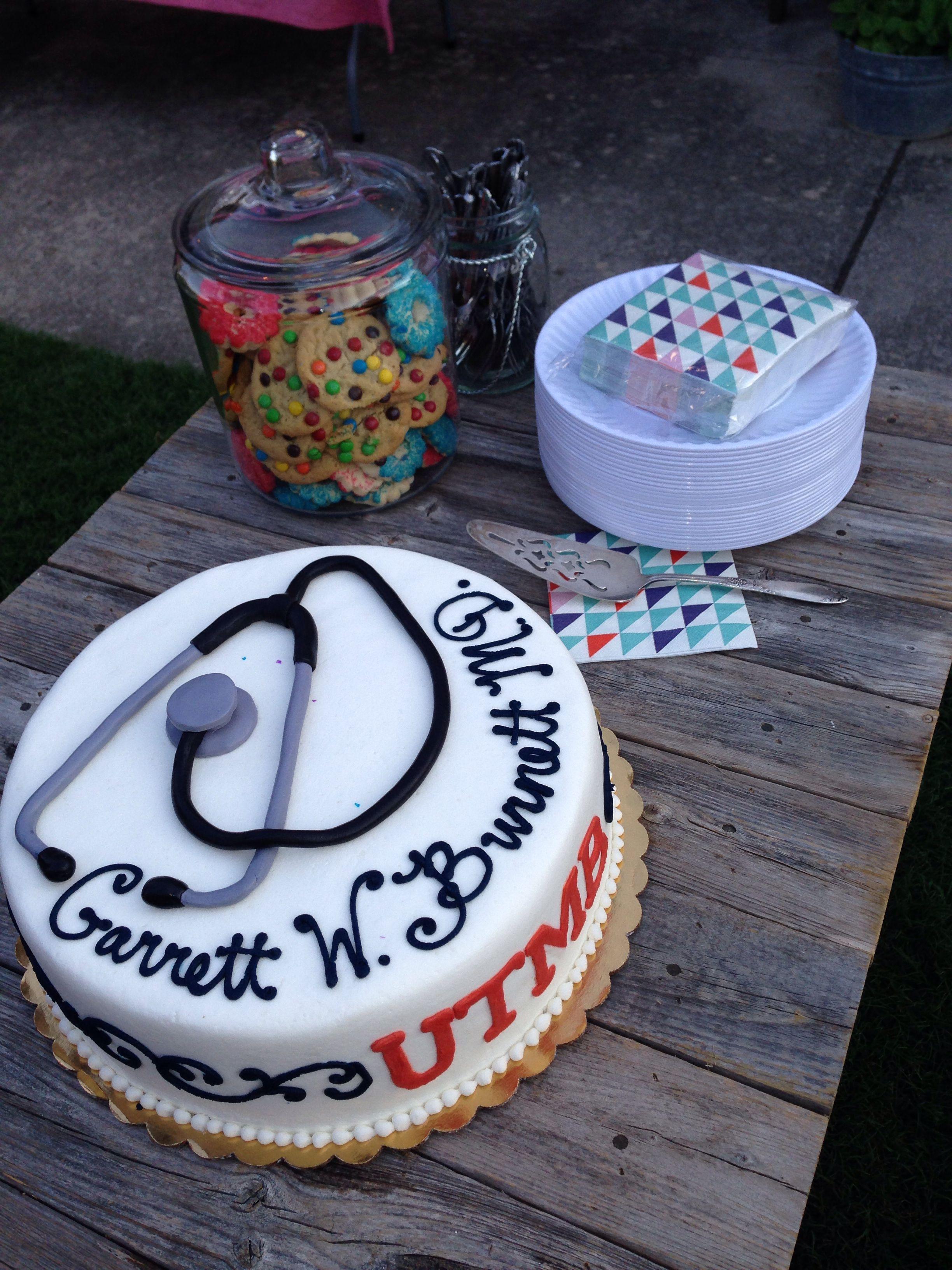 Terrific Cake From The Cake Stand Mckinney Tx Cake Medical School Birthday Cards Printable Giouspongecafe Filternl