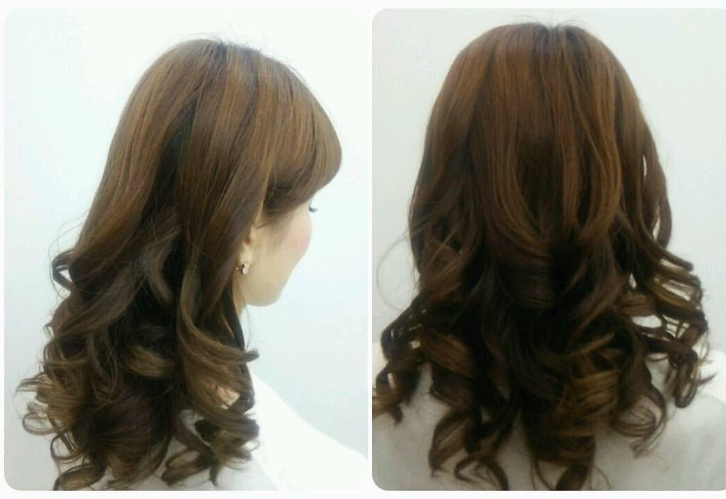 タカシ美容室 髪型 結婚式 パーティーヘア ホステス カールダウン髪型
