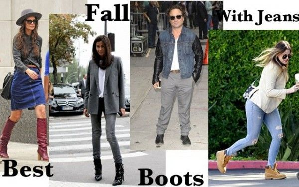 Best Fall Boots To Wear With Your Jeans