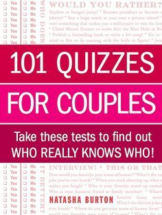 For Together Couples To Tests Relationship Take