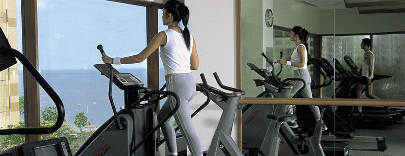 Work out with the State-of-the-art equipment at the 24 hour Fitness Centre at The Oberoi, Mumbai