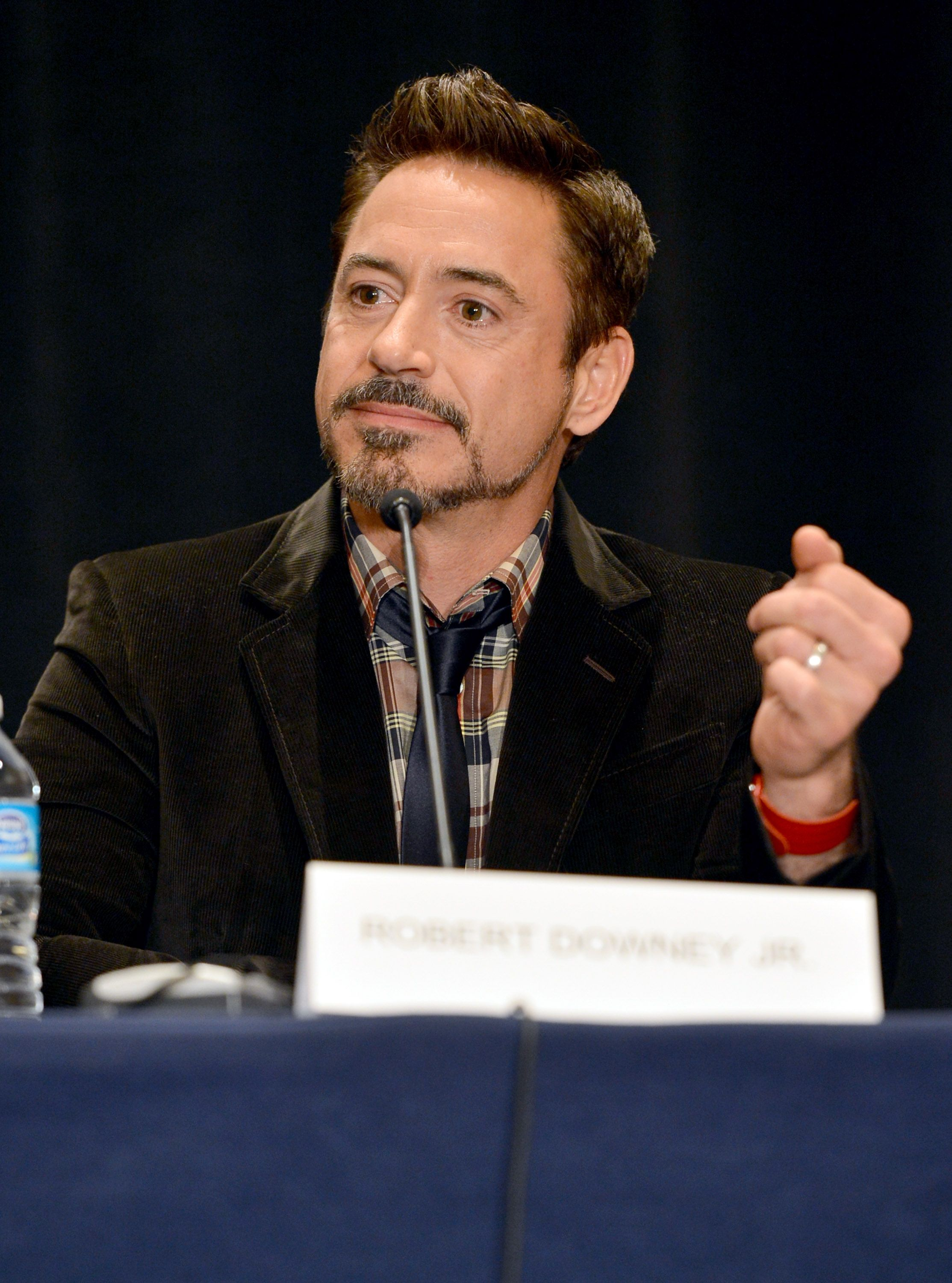 IRON MAN 3 press conference from San Diego Comic Con 2012. IRON MAN 3, in theaters May 3, 2013.