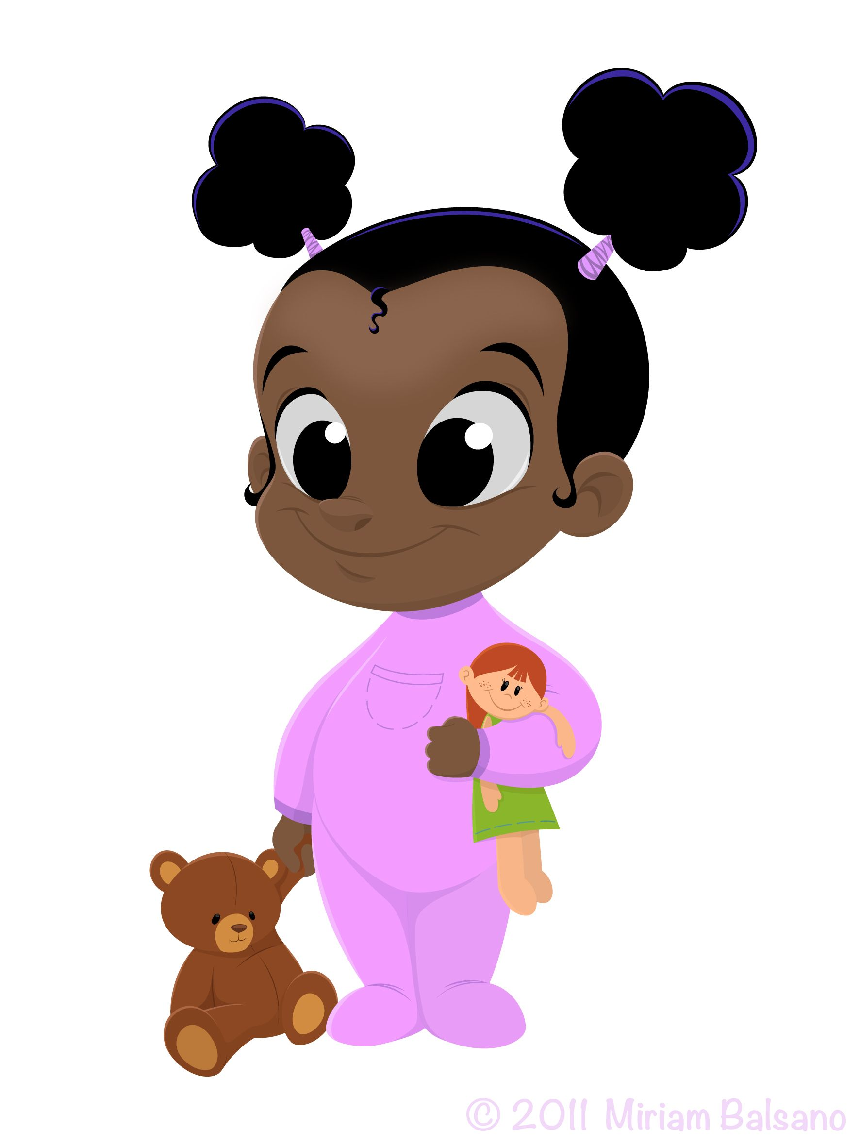 Black baby for an animation project | Character design ...
