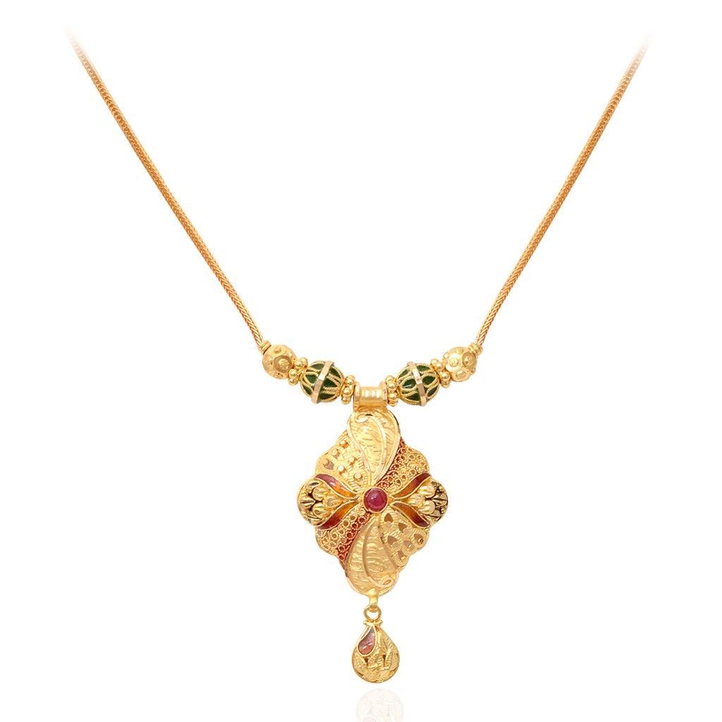 Gift for your love the enameled officewear necklace grt