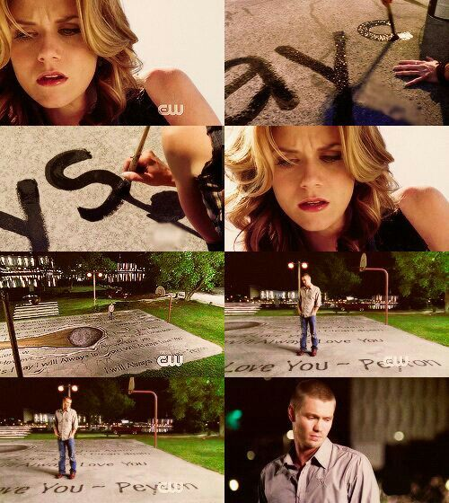 one tree hill peyton and lucas relationship