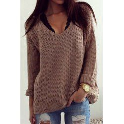 Multiway Off The Shoulder T-Shirt - Gray - M | Cheap sweaters ...