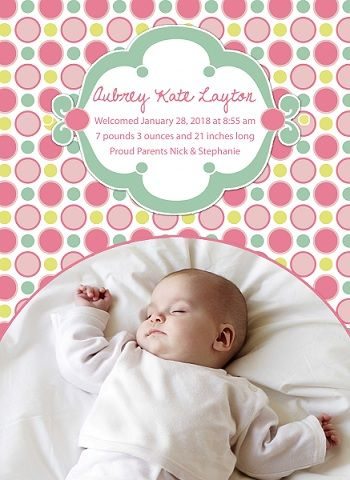bubble gum birth announcement announcements birth email announcement baby digital