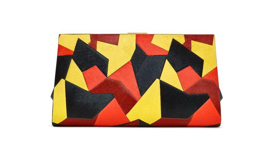 Sergio Rossi Pochette Juno http://www.vogue.fr/mode/shopping/diaporama/esprit-arty-shopping-art-et-mode/17998/image/988306#sergio-rossi-pochette-juno-multicolore-en-poulain-shopping-mode-arty