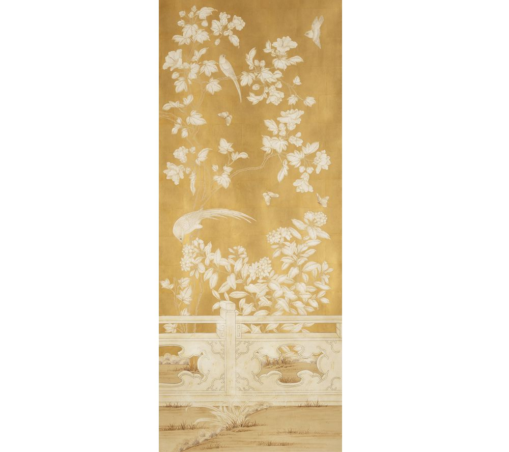 Handpainted Chinese wallpaper by Gracie Studio, SY-239 | bedroom ...