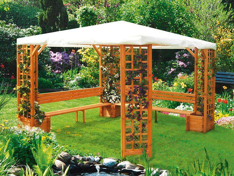 Gartenbank Mit Dach Kaufen Gartenbank Selber Bauen Selber Bauen Garten Pavillon Selber Bauen