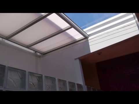 techo corredizo tres hojas en policarbonato. 921225318 - youtube