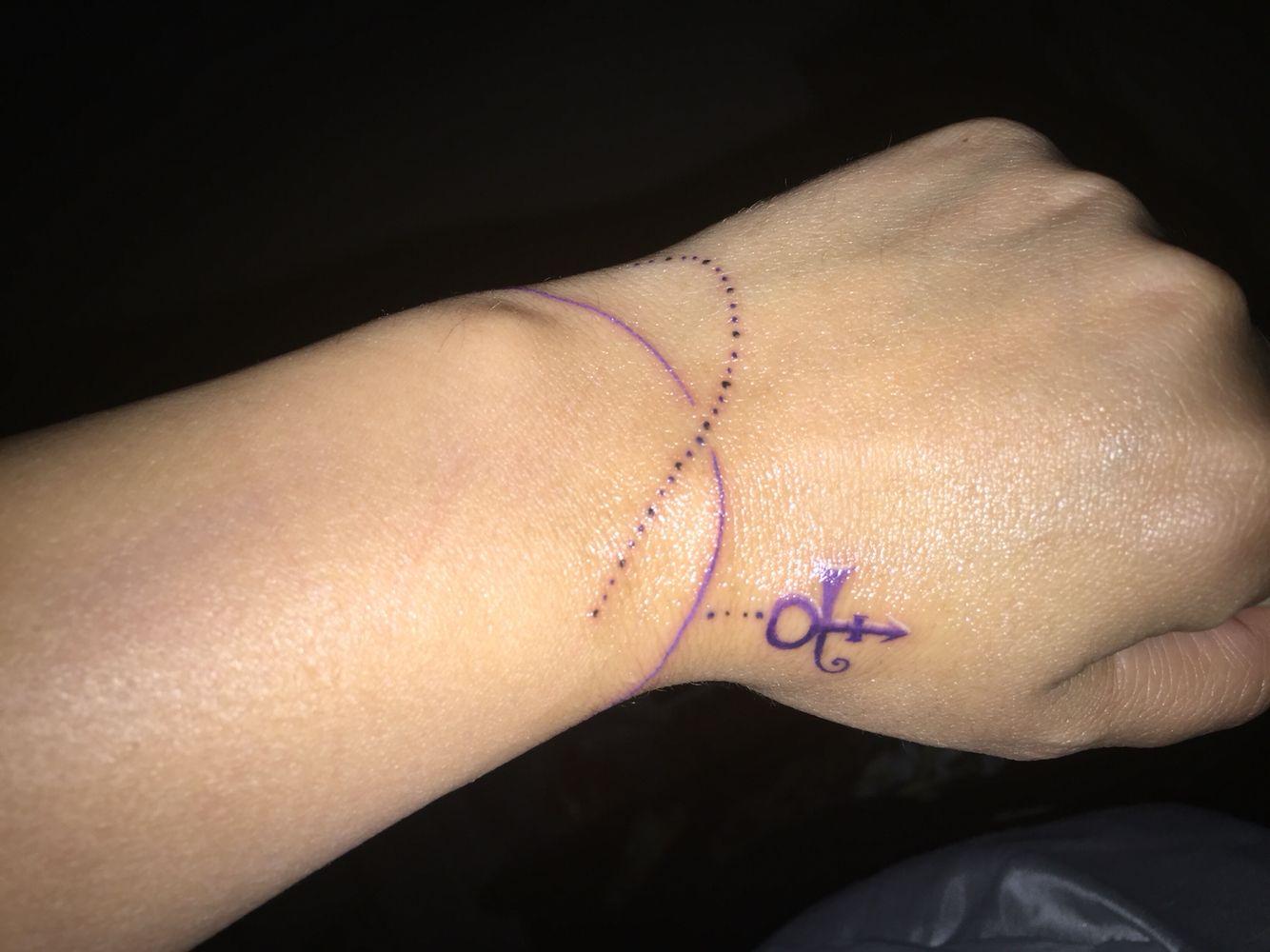 Prince Symbol Tattoo Tattoo Pinterest Symbols Tattoos Symbols